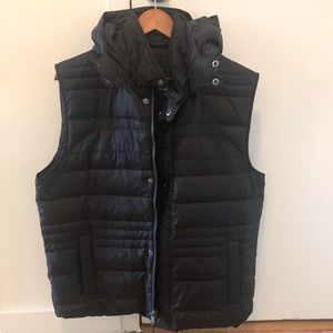 Marc New York Quilted Down Vest Black